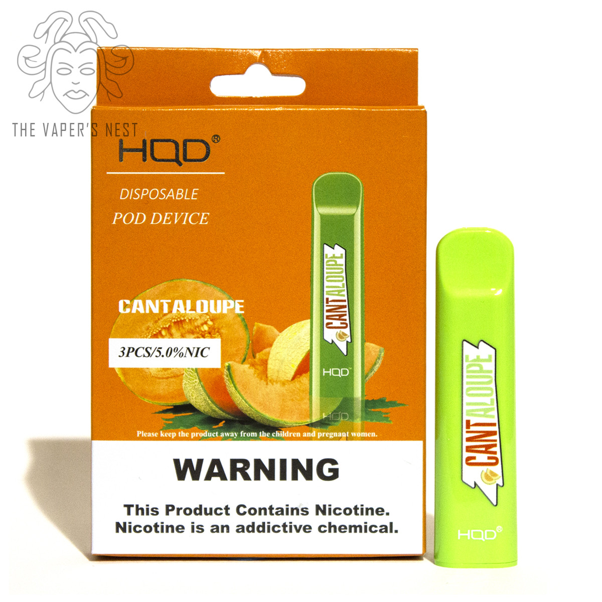Hqd Cantaloupe Disposable Vape The Vaper S Nest Hqd cuvie cantaloupe has the flavor of a perfectly ripe, sweet, juicy, and tender cantaloupe. hqd cantaloupe disposable vape the